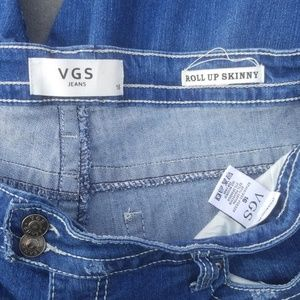 Vigoss Jeans - Women's Size 16 VGS Roll Up Skinny Jeans